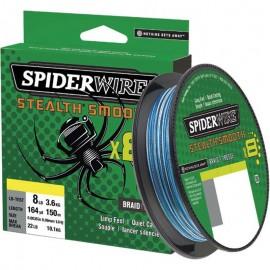 Tresse SpiderWire Stealth Smooth 8 braid Blue Camo