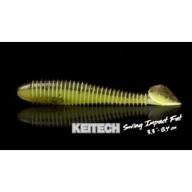 "Leurre souples KEITECH SWING IMPACT FAT 3.3"""