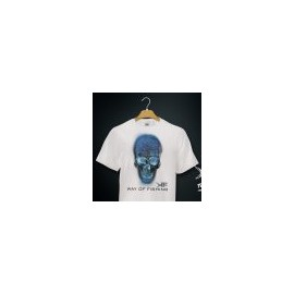 T-Shirt WAY OF FISHING blanc