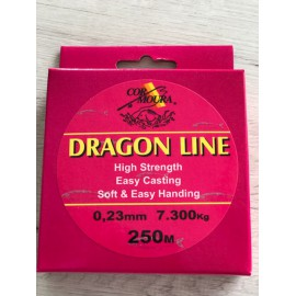 Fil de pêche Nylon CORMOURA/DRAGON LINE 250M 7.3kg / 23mm